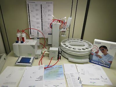 Mettler Toledo T70 Titration System w/ Rondo 20-Place Sampler & Accessories