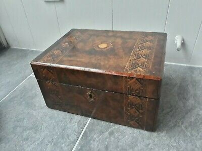 Vintage Wooden Writing Box