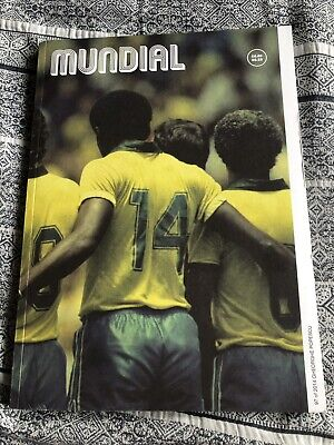 Mundial Magazine Issue 0 World Cup 2014 Rare Casual Football - No 97