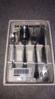 Ikea Dragon Cutlery Set - 16 Piece Silver