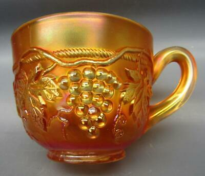 Northwood GRAPE & CABLE Marigold Carnival Glass Punch Cup 7159