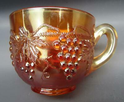 Northwood GRAPE & CABLE Marigold Carnival Glass Punch Cup 7160