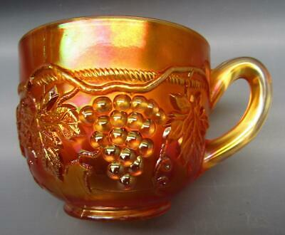 Northwood GRAPE & CABLE Marigold Carnival Glass Punch Cup 7163