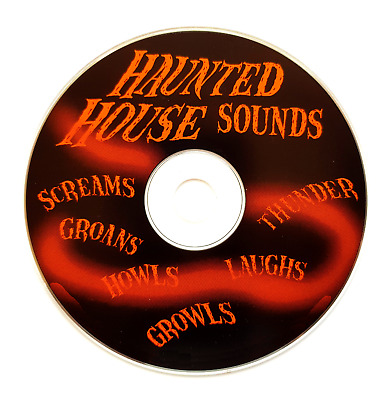 The Spooky Sounds Of Halloween. SCARY HORROR CREEPY ON CD