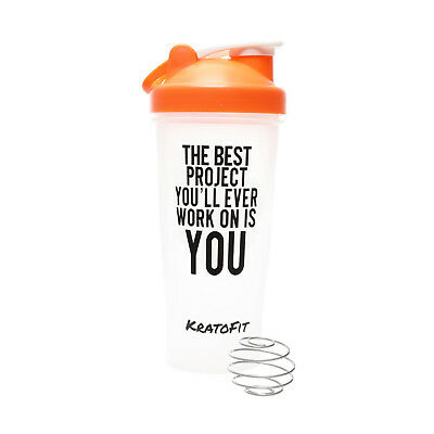 PROTEIN SHAKER BOTTLE / BLENDER CUP 28OZ, BPA FREE, Attractive Design, USA STOCK