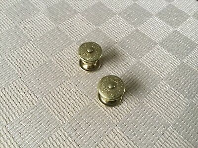 Antique Art Deco snap cuff links Sta lokt, gold filled snap cuff links ,1922