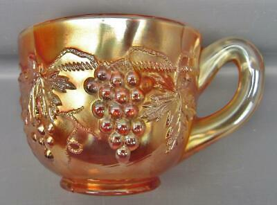 Northwood GRAPE & CABLE Marigold Carnival Glass Punch Cup 7162