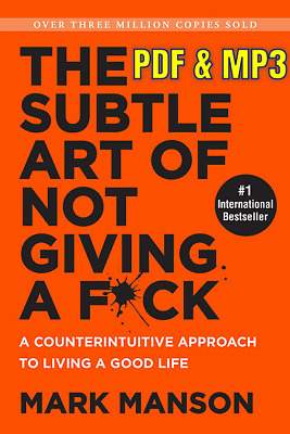 The Subtle Art of Not Giving a F*ck EBO0K & [AUDIO] ✔️ [E-MAILED]