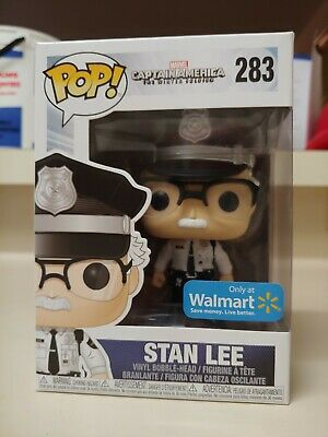 Funko POP # 283 New in Box Marvel Stan Lee Wal-Mart Exclusive