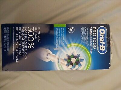OPEN BOX. Oral B Pro 1000  Rechargeable Toothbrush