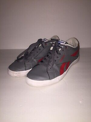 Reebok Royal Complete Royal Flag Ortholite Grey Red Men's Shoes Sz 11