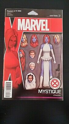 2019 Marvel Comics Powers Of X #2 Christopher Action Figure Variant Vf-