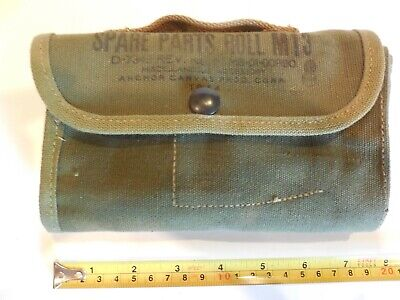 Vintage WW II US Military M1 Garand/Carbine Spare Parts Roll M13 Dated 1944