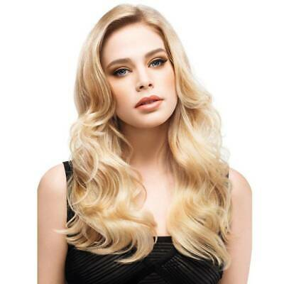 Women Solid Gold Long Curly Wig Wavy Hair Heat Resistant Lace Wig Synthetic HOT