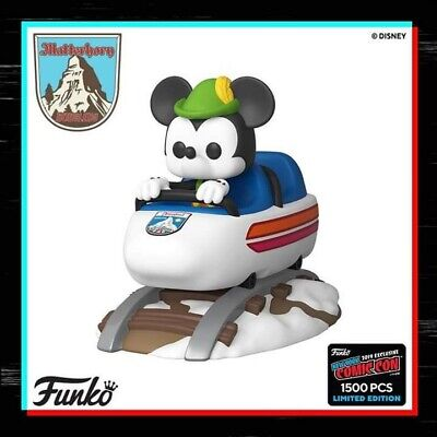 Pre-Order Funko Pop! Disney Matterhorn Mickey Mouse Nycc 2019 *Shared* Exclusive