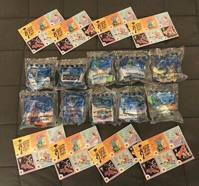 Toy Story 4, McDonald's Happy Meal toys Complete set of 10 and 48 stickers