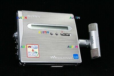 Sony Mz Nh1 Minidisc Recorder Md With Microphone