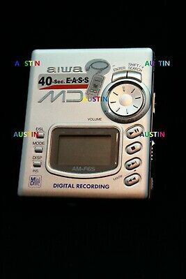 Aiwa Am F65  Minidisc Player Recorder Md With Microphone
