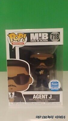 Funko Pop! Movies: Mib Men In Black  #717 Agent J- Funko-Shop.com Exclusive