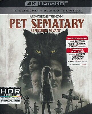 Pet Sematary (2019) (4K Ultra Hd/Bluray)(2 Disc Set)(Used)