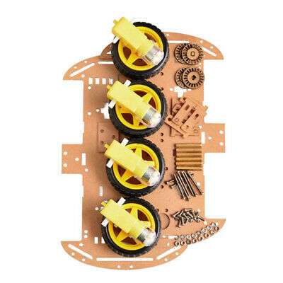 4WD Robot Car Kit Bluetooth IR Obstacle Avoid Line For·Arduino Follow L298N Y6J4