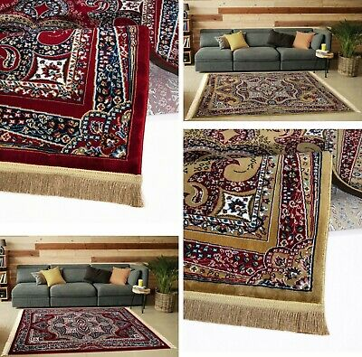 Classic Vintage Rugs for Living Room Small Medium Large Luxury Carpets