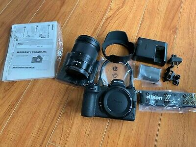 Nikon Z 6 24.5MP Mirrorless Digital Camera with 24-70mm f/4 S Lens
