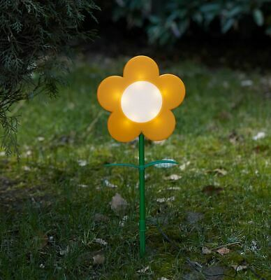 Ikea SOLVINDEN  LED solar-powered ground stick Outdoor/flower Red & Yellow Light
