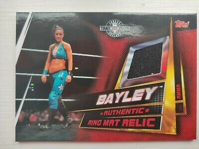 Topps WWE Slam Attax Universe Ring Mat Relic Bayley NXT