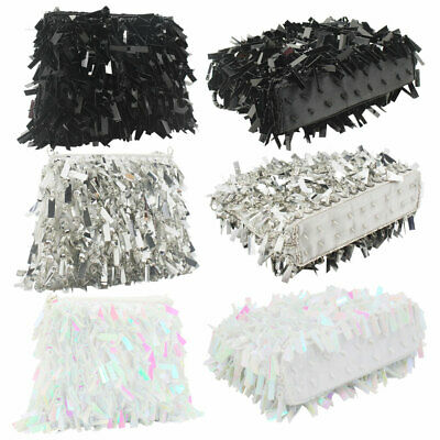 Bead /Sequin Clutch Evening Bag Wedding Clutches Purse Handbag Idea Women's Gift