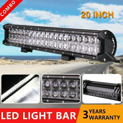20inch 5D 420W LED Light Bar Spot Flood Combo Beam Work Driving Offroad SUV 4WD