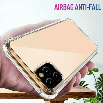 Pour iPhone 11 Pro Max Clear Crystal Clear Slim Slim Coque souple en silicone