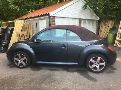 Vw beetle convertible flint grey special edition