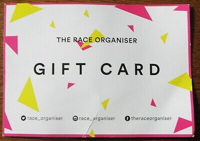 Race Organiser Gift Voucher £10 Value