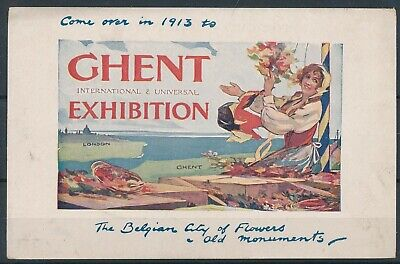 [1233] Gand CPA - Exposition Universelle 1913
