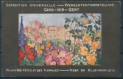 [1235] Gand CPA - Exposition Universelle 1913