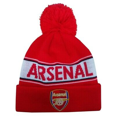 Arsenal Text Cuff Knitted Hat the gunners Emirates Stadium AFC Premier League