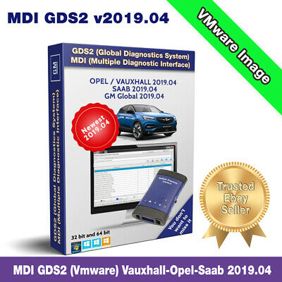 ✔️Newest MDI GDS2 v2019.04✔️Vauxhall-Opel-Saab Diagnostic Software