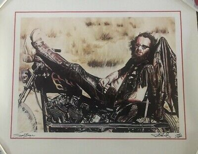 Sonny Barger Print Signed/Numbered Limited Edition w/ COA (Hells Angels)