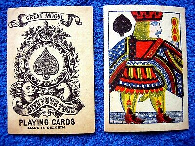 Spielkarte Great Mogul / Biermans Playing Cards  / ~ 1880