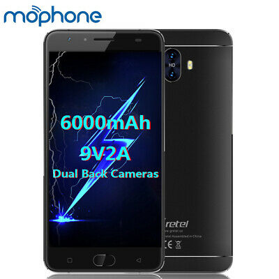 "Note 7 5.5"" RAM 2GB Unlocked Android Mobile Smart Phone 4Core 16GB HD SP"