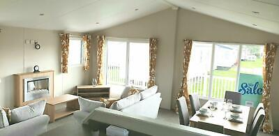 Brand New 2018 Model 3 Bedroom Lodge For Sale Including Decking In Essex