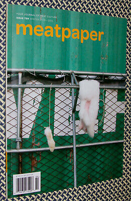 MEATPAPER Magazine, Issue 10, Rabbit, Meat Perfume, Meat Culture, Meat Packaging
