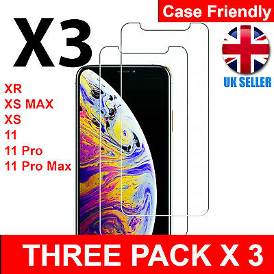 Screen Protector for New iPhone 11,11 Pro 11 Pro Max Gorilla Tempered Glass 2019
