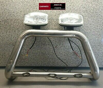 2010 Toyota Hilux Front Chrome Nudge Bar With Lights