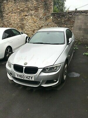 2010 Bmw 320D M Sport Coupe Facelift (Spares Or Repairs)