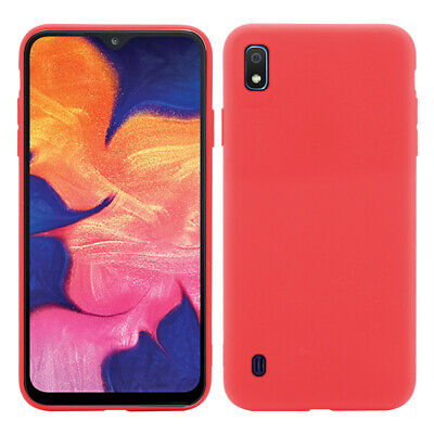 Candy Pure Color Slim Cover Frosted Soft TPU Back Case For Samsung Galaxy A10
