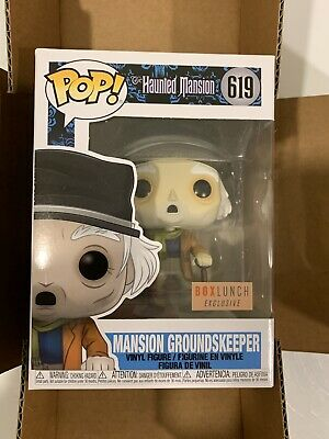 (1) Funko Pop #619 Mansion Groundskeeper Haunted Mansion Box Lunch Exclusive!