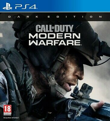 PS4 Call of Duty Modern Warfare Dark Edition. INCLUDES EARLY ACCESS.*