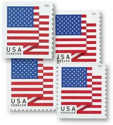 USPS USA Forever Postage Stamps (100 postage stamps per roll)